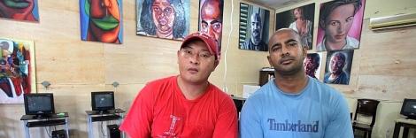 MYURAN Sukumaran and Andrew Chan